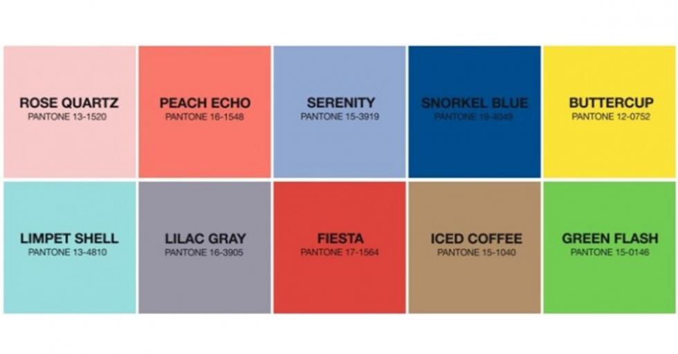 10 Tendências de cor Primavera/Verão 2016